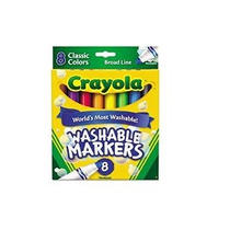 Crayola Generales Point Lavables Marcadores - Pack De 2 (58-