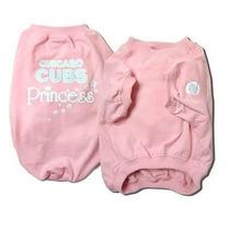 Camisa Para Perro T-shirt - Pink - Cachorros De Chicago Med