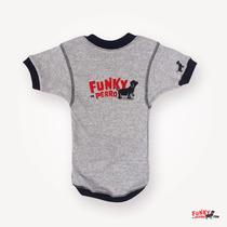 Cuello V, Logo Funky Perro, Talla 2xl A 4xl, Funky Perro.