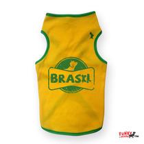 Tank Top, Brasil, Talla 2xl A 4xl, Funky Perro.