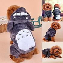 Suéter Disfraz Perrito Peluche Otaku Totoro Perro Bebé Kawai