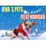 Ropa Para Perros, Lindo Sueter Santa, Tu Mascota Lucira!!!