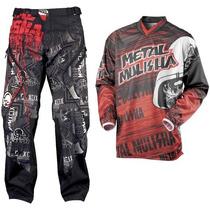 Traje Motocross Metal Mulisha S-30 Cuatrimoto Enduroatv Rzr