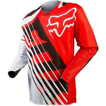 Jersey Fox 360 Savant Rojo Talla Xl Motocross Downhill
