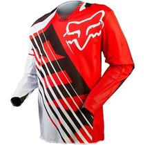 Jersey Fox 360 Savant Rojo Talla L Motocross Downhill