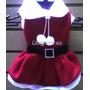 Vestido Santa Claus Talla 6 Para Perritas