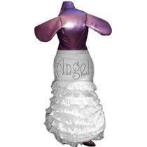 Vestido Para Perro Pet Tease Angel Frill Dog Dress, White W