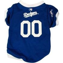 Vestido Para Perro Los Angeles Dodgers Mlb Mesh Pet Jersey