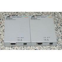 Convertidor De Fibra Optica Allied Telesyn At-fs212