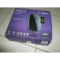 Router Wifi Belkin N600 Doble Banda Dual Band Con Puerto Usb