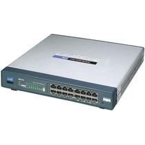 Router Con 16 Puertos Wan Wifi Cisco Rv016 Hm4