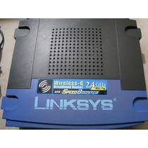 Router Linksys Wrt54gs V4 Con Speedbooster 35% Mas Rapido