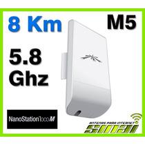 Ubiquiti Nanostation Loco M5 Ap Cpe 8km Punto A Punto Facil