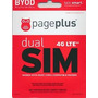Page Plus 4g Lte Sim Uso En Cualquier Teléfono Verizon 4g Lt