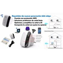 Repetidor Wifi Inalambrico Modelo 2016 300 Mbps Amplificador