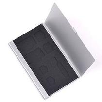 Tarjeta Bluecell Sim Sostenedor De La Caja De Aluminio Duro