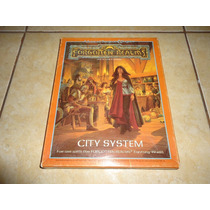 Advanced Dungeons & Dragons Forgotten Realms City System Tsr