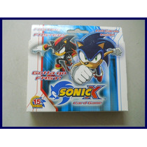 Sonic X Juego De Cartas Coleccionable Envio Estafeta $99 Vbf