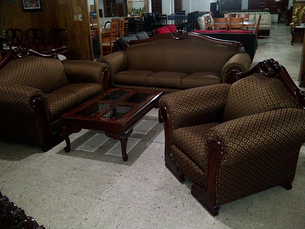 Sala Provenzal Piamonte En Cedro Rojo Tallada Muebles Finos  $ 25,000
