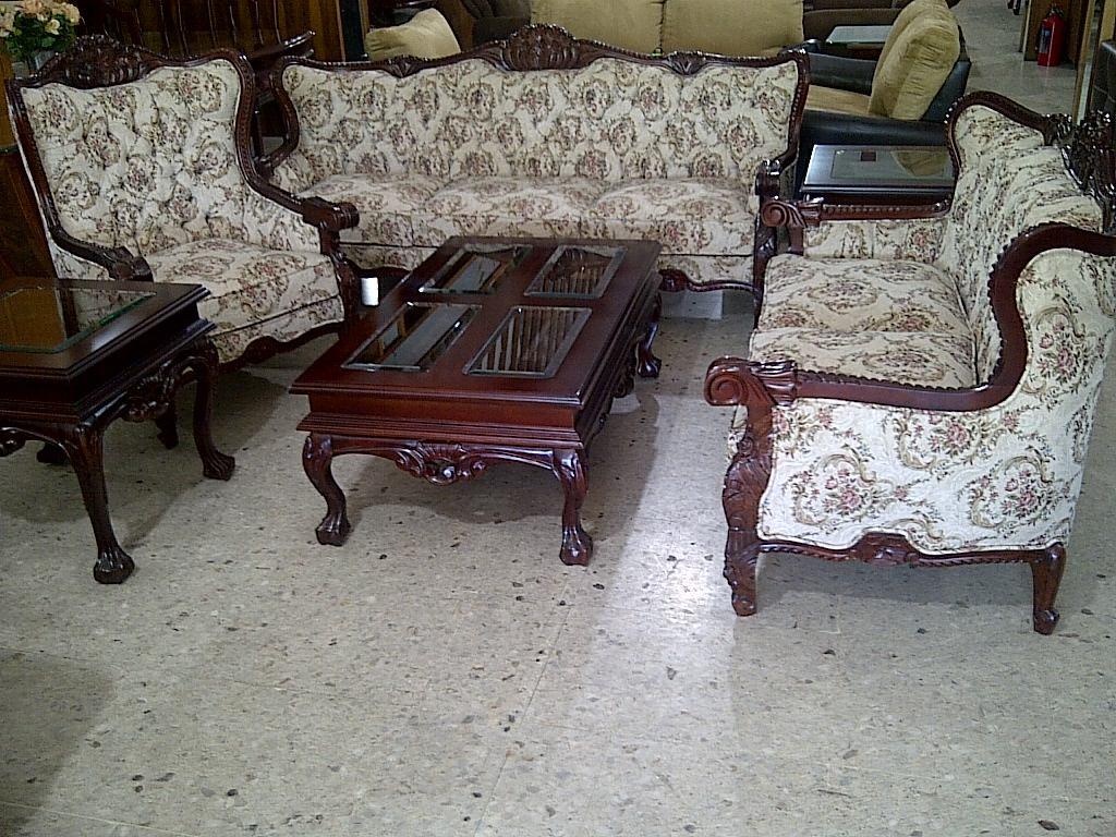 Sala Provenzal Torsal En Cedro Tallada A Mano Muebles Finos  $ 24,000