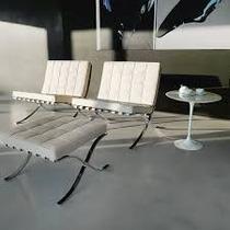 Banco U Ottoman Grex Blanco De Diseñador Con Garantia