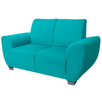 Love Seat Minimalista Salas Sillon Mobydec Muebles
