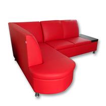 Sala Esquina Noruega Minimalista Sillon Sofa Mobydec Muebles