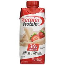 Premier Nutrición High Protein Shake Crema De La Fresa 11 Oz