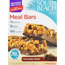 Dieta South Beach De Comidas Barras De Chocolate Chunk 1,58
