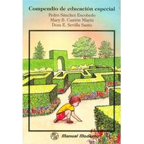 Libro Compendio De Educación Especial
