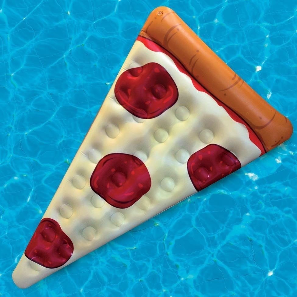 Salvavidas pizza flotador alberca piscina agua inflable for Salvavidas para piscinas