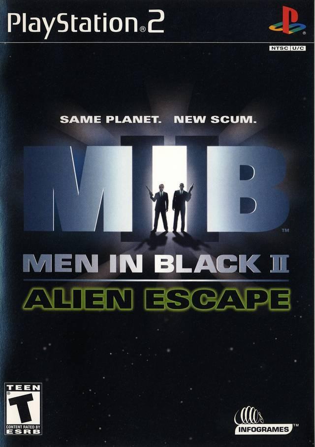 Same Planet New Scum Men In Black 2 Alien Escape Ps2* - $ 330.00 ...