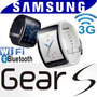 3g Telefon Reloj Sim Gear S R750 Wifi Llamada Mensaje C Agua