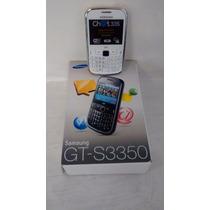 Samsung Gt-s3350/iusacell Y Liberado/buenas Condiciones