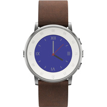 Pebble Time Round 20mm Smartwatch Apple/android Plata