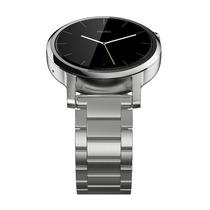 Motorola Moto 360 2nda Gen Smart Watch 42mm Plata Metal