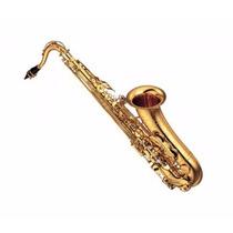 Saxofón Yamaha Tenor Custom Ex Tudel E1 Chapa De Oro 24k