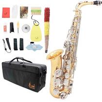 Oferta Saxofon Alto Paquete Sax Mib Accesorios Barato Nuevo