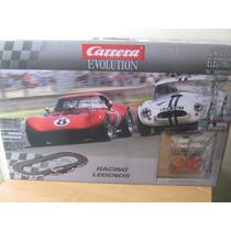 Autopista Carrera Racing Legend Evolution Analoga Esc. 1:32