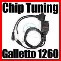 Escaner Galletto 1260 Chip Tunning Programador De Ecu V.2014