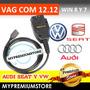 Vag Com 12.12 Version Mas Nueva Win 7y8 64 Y 32 Audi Seat Vw