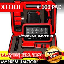 Programador Llaves Xtool X-100 Pad Kilometraje Obd2 Tablet