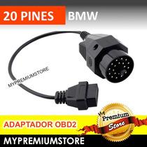 Adaptador Bmw 20 Pines A Escáner Obd2 16 Pines Convertidor