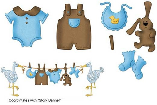 Tendedero de ropa para baby shower imagui - Tendedero ropa pared ...
