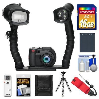 Sealife Dc1400 Camara Digital Con Flash Mas Kit