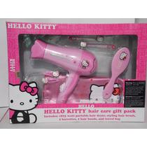 Kit De Secadora Hello Kitty Para El Cabello Con Accesorios