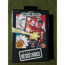 Midnight Resistance Sega Genesis Caja