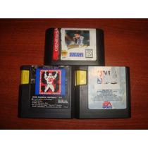 3 Juegos De Sega Genesis De Coleccion
