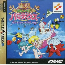 Jikkyou Oshaberi Parodius Sega Saturn Japonesa