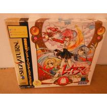Sega Saturn Magic Knight Rayearth Japon Anime Rpg Videogame